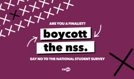 Boycott the NSS 2020