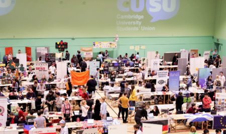 Cambridge Freshers' Fair: Update
