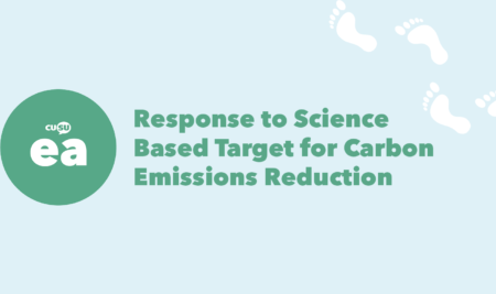 CUSU Ethical Affairs Response to Science Based Target for Carbon Emissions Reduction
