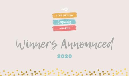 Student-Led Teaching Awards 2020: Winners Announced