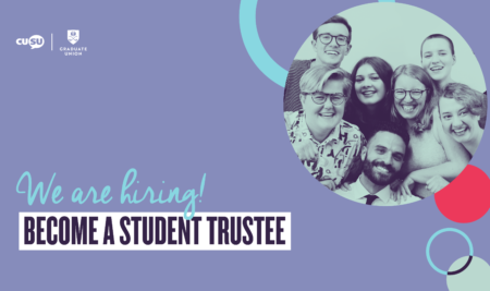 Student Trustees: Applications now open
