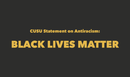 CUSU Statement on Antiracism: Black Lives Matter