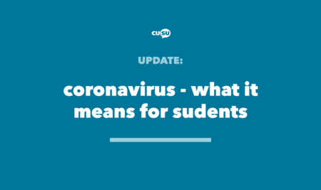 Coronavirus – what it means for students