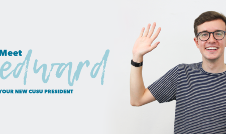 Meet Edward: Your New CUSU President