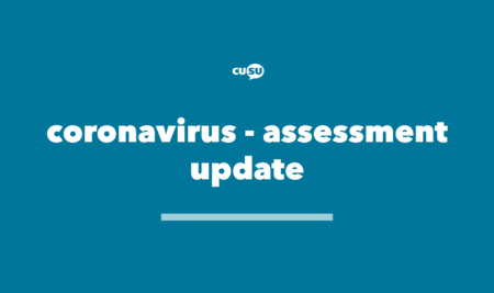 Coronavirus – Assessment update