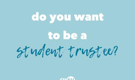 Student Trustee Vacancy